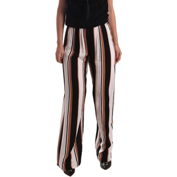 Ruhák Női Lenge nadrágok Gaudi 73FD25220 Fekete