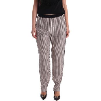 Ruhák Női Lenge nadrágok Gaudi 73FD25238 Fekete