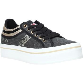 Cipők Női Rövid szárú edzőcipők Napapijri NA4ESX Fekete