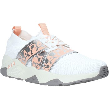 Cipők Női Rövid szárú edzőcipők Napapijri NA4ET7 Fehér