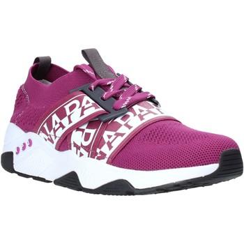 Cipők Női Rövid szárú edzőcipők Napapijri NA4ET7 Ibolya
