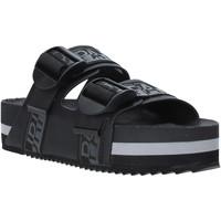 Cipők Női Papucsok Napapijri NA4ESE Fekete