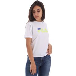 Ruhák Női Rövid ujjú pólók Fila 687614 Fehér