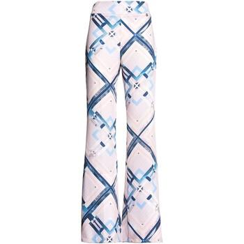 Ruhák Női Lenge nadrágok Fracomina FR20SM042 Rózsaszín