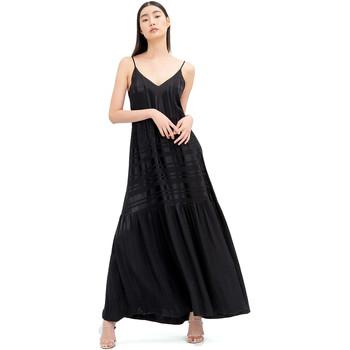 Ruhák Női Hosszú ruhák Fracomina FR20SM546 Fekete