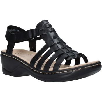 Cipők Női Szandálok / Saruk Clarks 26139748 Fekete
