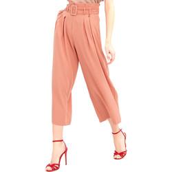 Ruhák Női Lenge nadrágok Fracomina FR20SM644 Rózsaszín