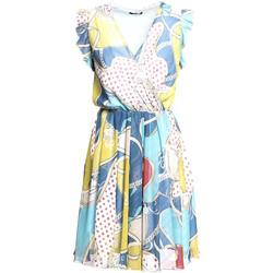 Ruhák Női Rövid ruhák Fracomina FR20SM562 Kék
