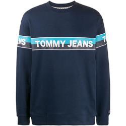 Ruhák Férfi Pulóverek Tommy Jeans DM0DM07894 Kék