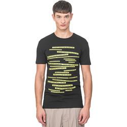 Ruhák Férfi Rövid ujjú pólók Antony Morato MMKS01749 FA120001 Fekete