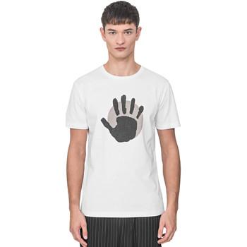 Ruhák Férfi Rövid ujjú pólók Antony Morato MMKS01765 FA100144 Fehér