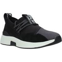 Cipők Férfi Rövid szárú edzőcipők Replay GMS2B 240 C0002T Fekete