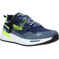 Cipők Férfi Rövid szárú edzőcipők Replay GMS2L 240 C0001T Kék