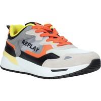 Cipők Férfi Rövid szárú edzőcipők Replay GMS2L 240 C0001T Narancssárga