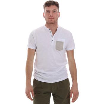 Ruhák Férfi Rövid ujjú pólók Sseinse ME1600SS Fehér