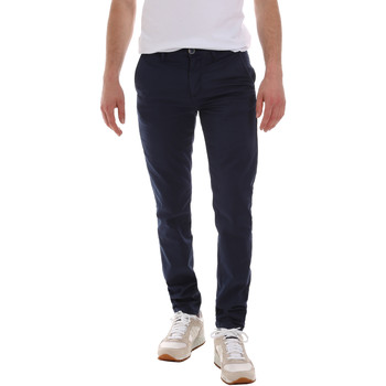 Ruhák Férfi Chino nadrágok / Carrot nadrágok Sseinse PSE555SS Kék