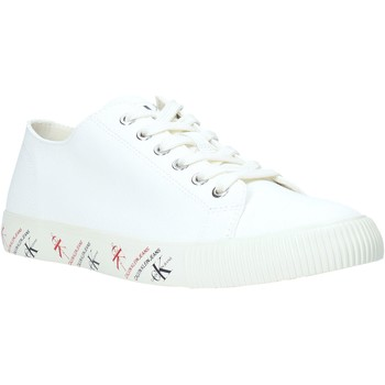Cipők Férfi Rövid szárú edzőcipők Calvin Klein Jeans B4S0668 Fehér
