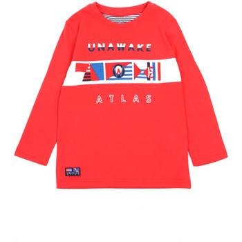 Ruhák Lány Hosszú ujjú pólók Losan 015-1002AL Piros