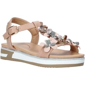 Cipők Lány Szandálok / Saruk Miss Sixty S20-SMS781 Rózsaszín