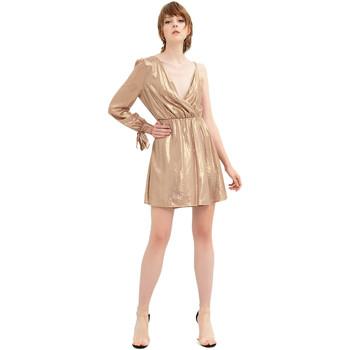 Ruhák Női Rövid ruhák Fracomina FR20SP453 Arany