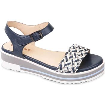 Cipők Női Szandálok / Saruk Valleverde 15150 Kék