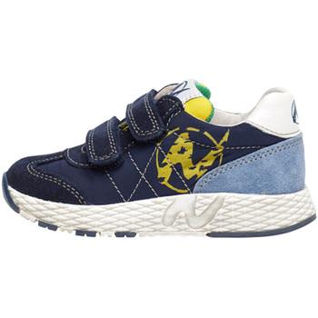 Cipők Gyerek Rövid szárú edzőcipők Naturino 2014904 01 Kék