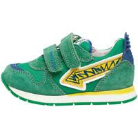 Cipők Gyerek Rövid szárú edzőcipők Naturino 2014913 01 Zöld