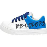 Cipők Gyerek Rövid szárú edzőcipők Naturino 2014918 02 Kék
