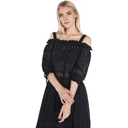 Ruhák Női Blúzok Gaudi 811FD45010 Fekete