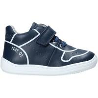 Cipők Gyerek Magas szárú edzőcipők Naturino 2013463 01 Kék