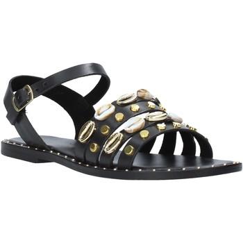 Cipők Női Szandálok / Saruk Café Noir GB174 Fekete