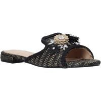 Cipők Női Papucsok Gold&gold A20 GK35 Fekete