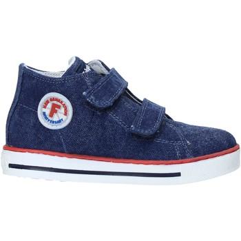 Cipők Gyerek Magas szárú edzőcipők Falcotto 2014604 04 Kék
