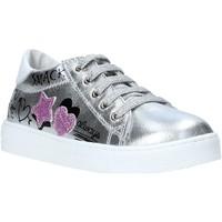 Cipők Lány Rövid szárú edzőcipők Falcotto 2014628 02 Ezüst