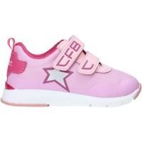 Cipők Lány Rövid szárú edzőcipők Falcotto 2013512 01 Rózsaszín