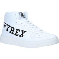 Cipők Női Magas szárú edzőcipők Pyrex PY020207 Fehér