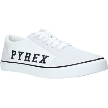 Cipők Férfi Rövid szárú edzőcipők Pyrex PY020201 Fehér
