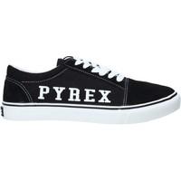Cipők Férfi Rövid szárú edzőcipők Pyrex PY020201 Fekete