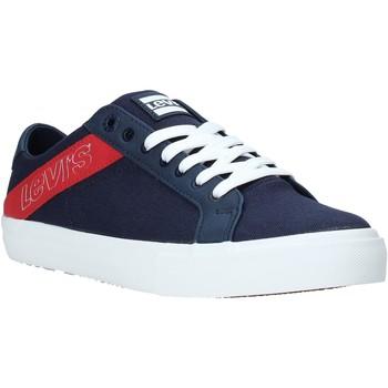 Cipők Férfi Rövid szárú edzőcipők Levi's 230667 1919 Kék