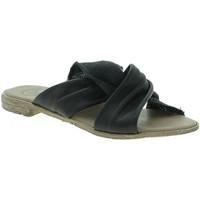 Cipők Női Papucsok 18+ 6113 Fekete