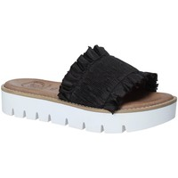 Cipők Női Papucsok 18+ 5812 Fekete