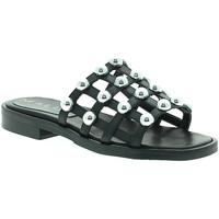 Cipők Női Papucsok Mally 6141 Fekete