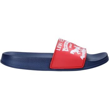 Cipők Gyerek strandpapucsok Levi's VPOL0037S Piros