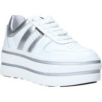 Cipők Női Rövid szárú edzőcipők Exton 1505 Fehér