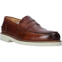 Cipők Férfi Mokkaszínek Exton 2102 Barna