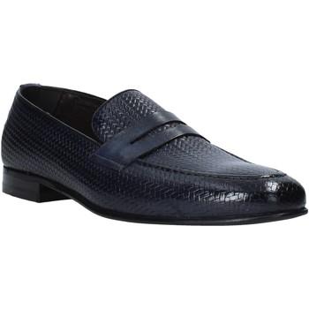 Cipők Férfi Mokkaszínek Exton 1021 Kék
