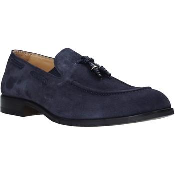 Cipők Férfi Mokkaszínek Exton 1111 Kék