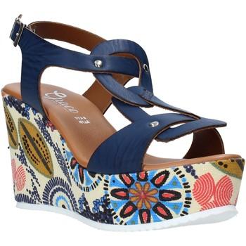 Cipők Női Szandálok / Saruk Grace Shoes 09 Kék