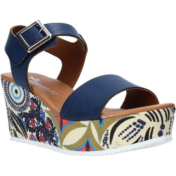 Cipők Női Szandálok / Saruk Grace Shoes 07 Kék
