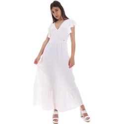Ruhák Női Hosszú ruhák Gaudi 011BD15039 Fehér